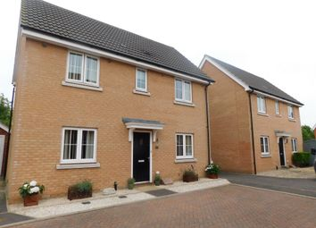 Thumbnail 3 bed detached house for sale in Yellowhammer Close, Stowmarket
