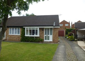 Thumbnail 2 bed semi-detached bungalow for sale in Lochrin Place, York