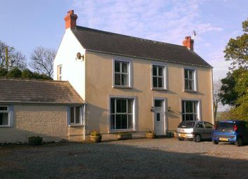 Thumbnail 4 bed farm for sale in Johnston, Haverfordwest
