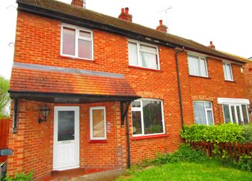 Thumbnail 3 bed semi-detached house for sale in Newark Avenue, Dogsthorpe, Peterborough