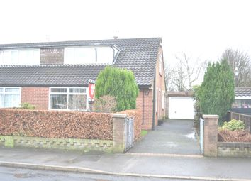 Thumbnail 3 bed semi-detached bungalow for sale in Bannister Close, Higher Walton