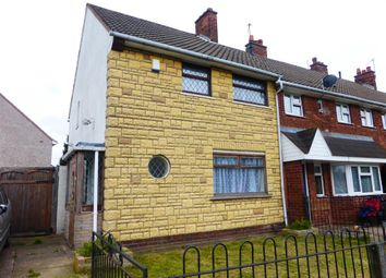 Thumbnail 2 bed end terrace house to rent in Stephenson Avenue, Walsall