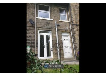 Thumbnail 1 bedroom terraced house to rent in Back Wakefield Road, Sowerby Bridge