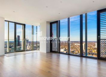 Thumbnail 3 bed flat to rent in Stratosphere, Stratford, London