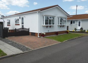 Thumbnail 2 bed mobile/park home for sale in Lakeside Park, Mead Lane, Chertsey