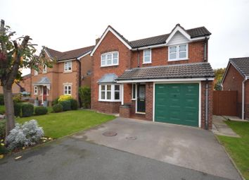 Thumbnail 4 bed detached house for sale in Kinnington Way, Backford, Chester