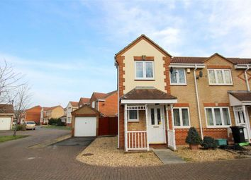 Thumbnail 3 bed end terrace house for sale in Jacobs Meadow, Portishead, North Somerset