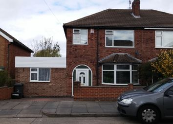 Thumbnail 3 bed semi-detached house to rent in Oakdene Road, Leicester