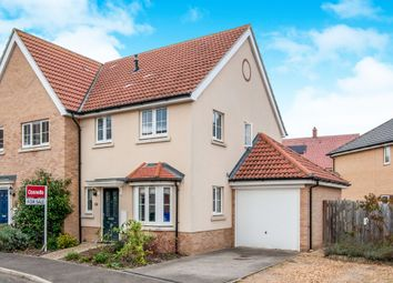 Thumbnail 3 bedroom end terrace house for sale in Hornbeam Avenue, Red Lodge, Bury St. Edmunds