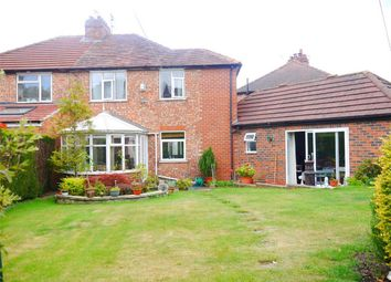 Thumbnail 4 bedroom semi-detached house for sale in Nunthorpe Gardens, Bishopthorpe Road, York