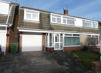 Thumbnail 4 bed semi-detached house for sale in Northside Place, Holywell, Tyne & Wear