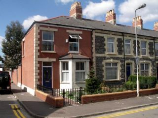 Thumbnail 1 bed end terrace house to rent in Prince Leopold Street, Roath, Cardiff