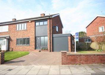 Thumbnail 3 bed semi-detached house for sale in Branksome Grove, Hartburn, Stockton-On-Tees