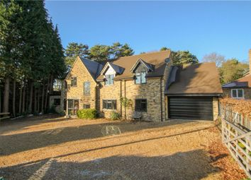 Thumbnail 5 bedroom detached house for sale in Kingsley Avenue, Camberley, Surrey
