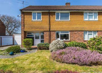 Thumbnail 3 bedroom semi-detached house for sale in Chestnut Copse, Hurst Green, Surrey