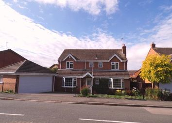 Thumbnail 4 bed detached house for sale in Foston Gate, Wigston, Leicester, Leicestershire