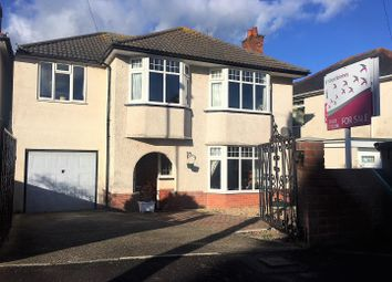 Thumbnail 4 bedroom detached house for sale in Fernhill Avenue, Weymouth