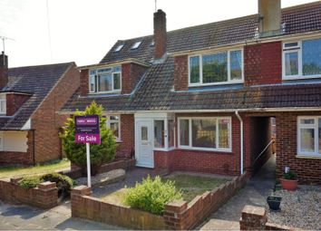 Thumbnail 3 bed terraced house for sale in Thornhill Way, Brighton