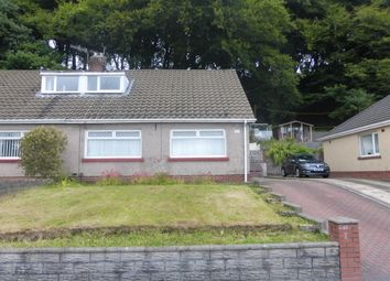 Thumbnail 3 bed semi-detached bungalow for sale in Park Crescent, Lonlas, Neath