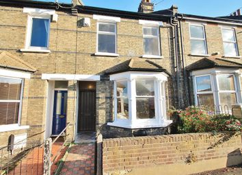 Thumbnail 2 bed terraced house for sale in Russell Road, Gravesend, Kent