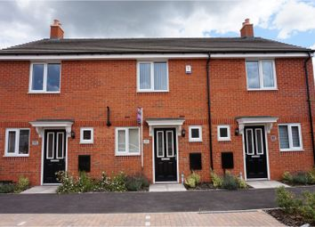 Thumbnail 2 bed town house for sale in Sansome Drive, Hinckley