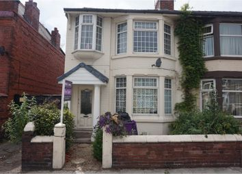 Thumbnail 3 bedroom end terrace house for sale in Hall Lane, Liverpool