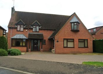 Thumbnail 4 bed detached house for sale in Clarendon Way, Glinton, Peterborough, Cambridgeshire