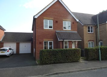 Thumbnail 3 bed link-detached house to rent in Thurlow Close, Saxmundham, Suffolk