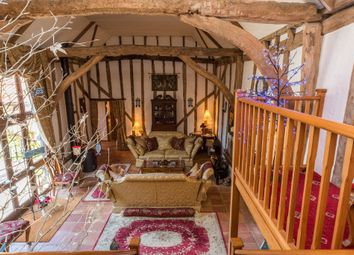Thumbnail 5 bed barn conversion for sale in The Street, Weybread, Diss, Norfolk