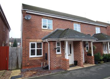 Thumbnail 2 bed end terrace house for sale in Panama Road, Burton-On-Trent