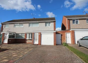Thumbnail 3 bed semi-detached house for sale in Augustine Avenue, Studley