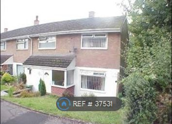 Thumbnail 2 bed semi-detached house to rent in Green Court, Croesyceiliog, Cwmbran