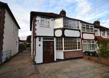 Thumbnail 3 bed detached house to rent in Highland Avenue, Loughton