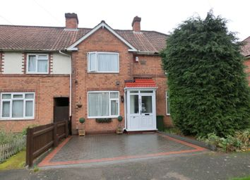 Thumbnail 3 bed terraced house for sale in Mapleton Road, Hall Green, Birmingham