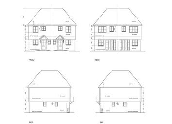 Thumbnail 2 bed semi-detached house for sale in The Drive, Uckfield, East Sussex, Uk