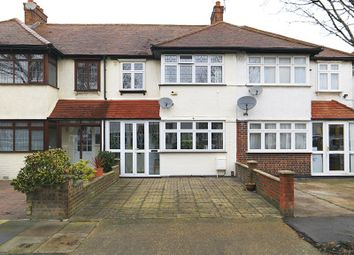 Thumbnail 3 bed terraced house for sale in Woodfield Gardens, New Malden