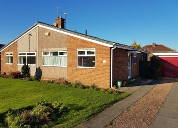 Thumbnail 2 bedroom semi-detached bungalow for sale in Seamer Close, Acklam Hall, Middlesbrough