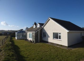 Thumbnail 4 bed bungalow for sale in Rhoscolyn, Holyhead, Anglesey
