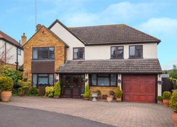Thumbnail 5 bed detached house for sale in Warwick Avenue, Cuffley, Potters Bar, Hertfordshire