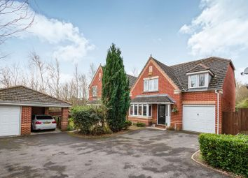 Thumbnail 4 bed detached house for sale in Basingfield Close, Basingstoke