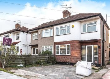 Thumbnail 3 bed semi-detached house to rent in Holyrood Avenue, Harrow, Middlesex