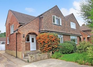 Thumbnail 3 bed semi-detached house for sale in Stringhams Copse, Ripley, Woking