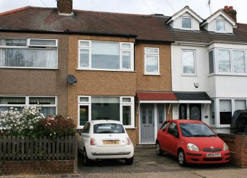 Thumbnail 3 bed terraced house to rent in Essex Road, Romford