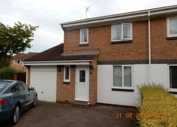 Thumbnail 3 bed semi-detached house to rent in Redshank Close, Washington