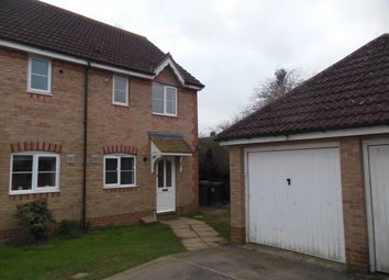 Thumbnail 2 bedroom semi-detached house to rent in Meadowsweet Close, Thatcham