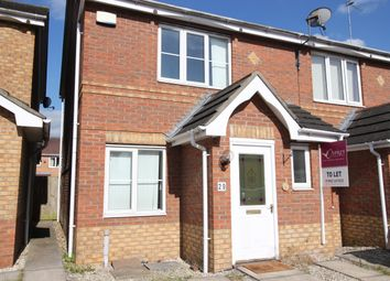 Thumbnail 2 bed semi-detached house to rent in Lavender Close, Hull