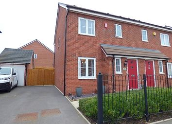 Thumbnail 3 bed semi-detached house for sale in East Works Drive, Cofton Hackett