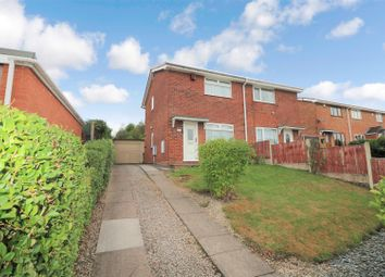 Thumbnail 2 bed semi-detached house for sale in Pensford Grove, Birches Head, Stoke-On-Trent