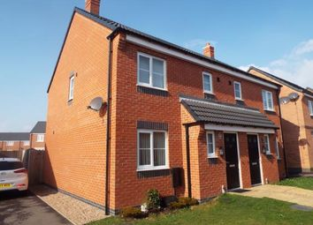 Thumbnail 3 bedroom semi-detached house for sale in Pasture Drive, Birstall, Leicester, Leicestershire