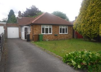 Thumbnail 2 bed bungalow to rent in Thorney Road, Birmingham